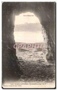 Old Postcard Cote d'Emeraude Around St Servan Maw wolf