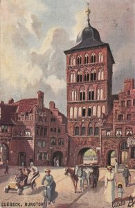LUEBECK , Germany, 1910 ; Burgtor ;  TUCK 7080