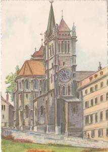 Switzerland Geneve Saint Pierre Church