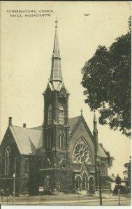 Congregational Church, Natick, Mass.
