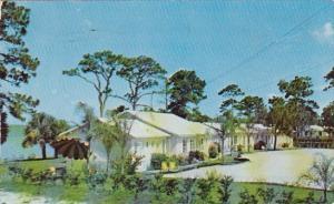 Florida Titusville River Shore Mtel 1954