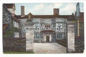 tq0321 - Norfolk - Early View of the Dolphin Inn, In Norwich -  postcard