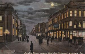 LONDON , Ontario , Canada , 00-10s ; Dundas Street , East from Richmond Stree...