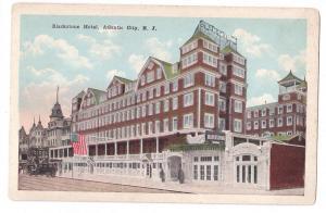 Atlantic City NJ Blackstone Hotel Vintage Postcard