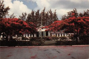 Grand Cayman Islands Post card Old Vintage Antique Postcard Government House ...