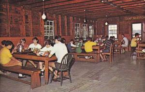 Interior, Camp Notre Dame,  Lake Spofford,  Spofford,  New Hampshire,   40-60s