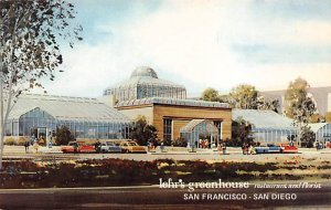 Lehr's Greenhouse Restaurant and Florist San Diego CA