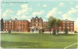 St. Mary´s Hospital, Rochester, Minnesota, 1911