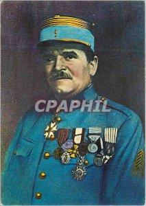 Postcard Modern Commander Reynal Heroique defender of Fort Vaux Verdun 1916 M...