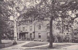 Massachusetts South Hadley Mount Holyoke College Porter Hall Albertype