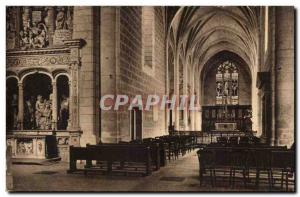 Old Postcard The Chapel Of The Virgin And The Choir Of St Pierre De Solesmes ...