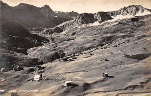 Switzerland Inner-Arosa, Innerarosa mountains, panorama