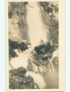 Pre-1918 rppc NICE VIEW Falls Creek In Keefers - Near Hope BC W1097