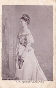 Netherlands H M Koningin Wilhelmina
