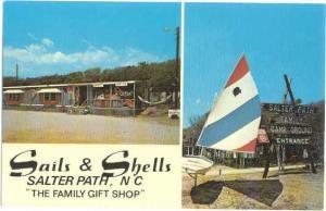 Sails & Shells, Family Gift Shop, Salter Path, North Carolina, NC, Chrome