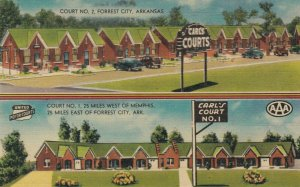 FOREST CITY , Arkansas, 1930-40s ; Carl's Courts
