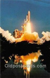 Space Postcard Edwards Air Force Base, CA, USA April 12, 1981 Astronauts John...