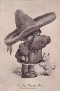 Mexican Boy & dog , Little Peter Pie , 1907