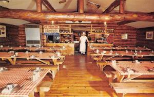 Hayward Wisconsin Cook Shanty Logging Camp Interior Vintage Postcard K98194