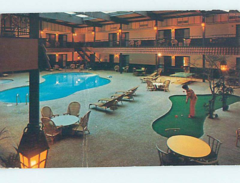 Damaged Pre 1980 Downtowner Motel Green Bay Wisconsin Wi M4667