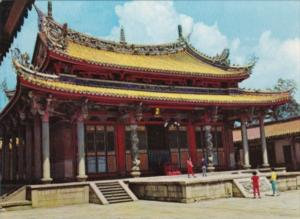 Taiwan Taipei City The Confucious Temple