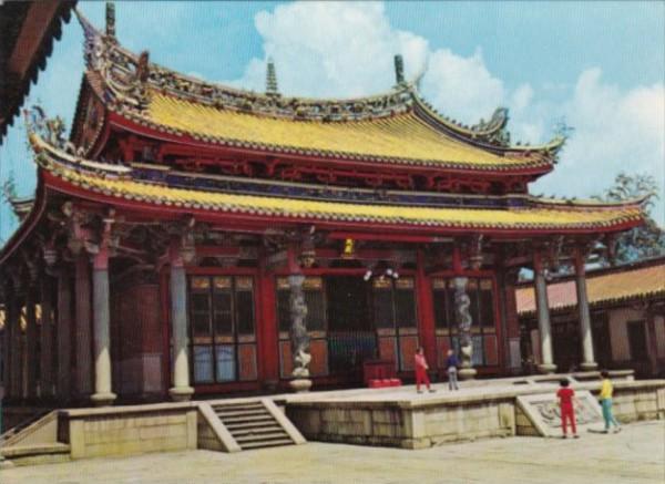 Taiwan Taipei City The Confucious Temple