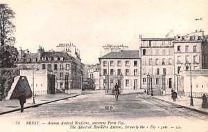 Admiral Rouillere Avenue Brest France Unused