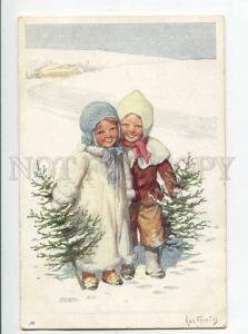 264895 NEW YEAR Kids Tree by FEIERTAG Vintage B.K.W.I. #2781