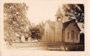 Barnard Missouri ME Church Real Photo Vintage Postcard JA4741546