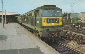 Class 53 D0280 Train at Bristol Railway Station in 1968 Postcard