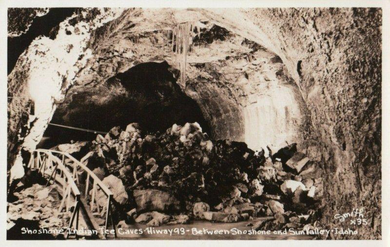 RP: Ice Caves , Southern Idaho , 1930-40s #2