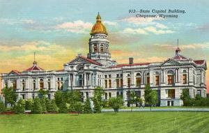 WY - Cheyenne, State Capitol
