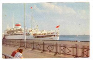 Leningrad , Russia , 50-60s  Port de mer