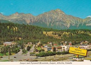 Canada Jasper & Pyramid Mountain