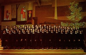 Minnesota Moorhead Concordia Choir At 1957 Concordia College Christmas Concert