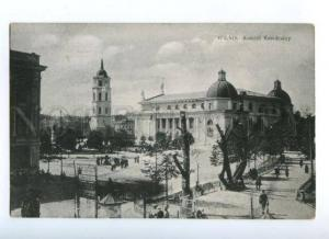 171891 Lithuania WILNO Kosciol Katedralny Vintage postcard