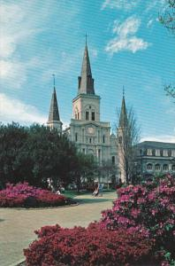 Louisiana New Orleans St Louis Cathedral