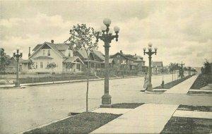 Virginia Minnesota Central Avenue Kopp Morris Albertype Postcard 21-10636