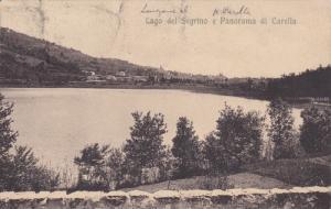 Lago del Segrino e Panorama di Carella ,Como, Lombardy, Italy , PU-1913