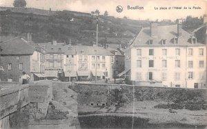 La Place et l'Hotel de la Poste Bouillon Belgium 1913