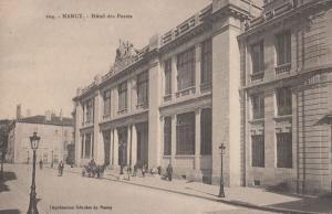 Nancy Hotel Des Postes Antique French Postcard