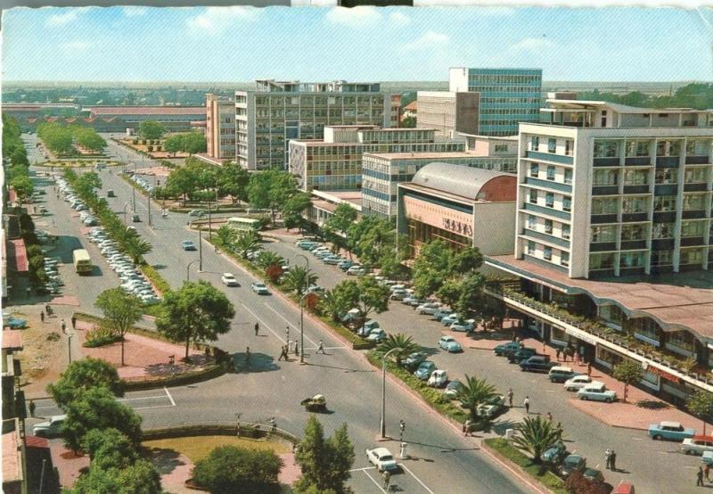 Kenya, Nairobi, Government Road, 1971 used Postcard