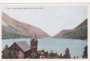 Lake Bennett, White Pass & Yukon Railroad, British Columbia, Canada, 1930-40s