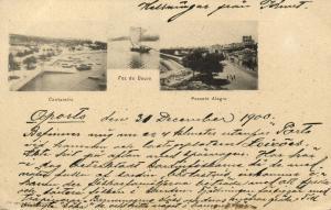 portugal, PORTO, Cantareira, Foz do Douro, Passeio Alegre (1900)