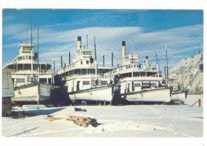 Sternwheeler ships , WHITEHORSE , Yukon , Canada , 40-60s