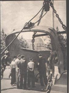 098401 USSR Exhibition Moscow ESH-20/65 walking dragline Old