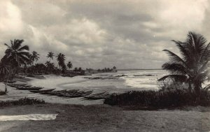 Ghana Gold Coast View of Tema RP Postcard