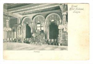 Festsaal,Grand Hotel National, Luzern, Switzerland, 1890s