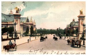 France Paris   Le Grand et le Petit Palais