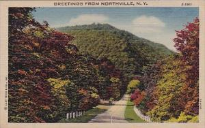 Greetings From Northville New York 1951